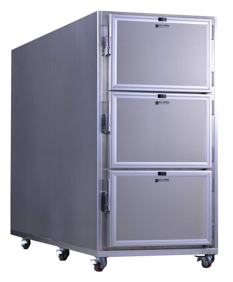 TR-CP Series Mortuary Freezer/ Corpse Storage Refrigerator, 1~ 6 Corpses, -18°C, MR-CP series